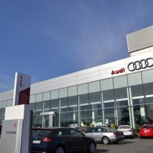 Audi en el Pica.
