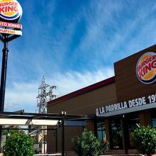 Burger King en el PICA.