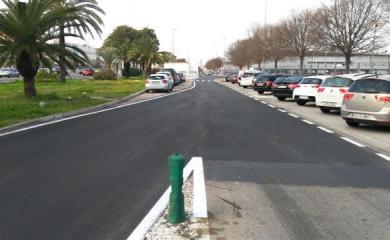 Estos trabajos se han centrado en la mejora de la pavimentación de las calzadas de las calles José María Ibarra y Gómez-Rull y Antonio de la Peña López, que presentaban un deficiente estado de conservación.