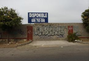 Parcela libre en la calle Antonio de la Peña López Nº 15